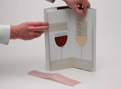 Wine Book Redesign by Janell Baldwin, via Behance