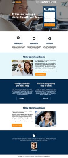 Top 12 security services and device selling landing pages | Lead ...