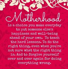 Motherhood Pictures, Photos, and Images for Facebook, Tumblr, Pinterest, and Twitter