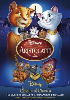 Poster del film Gli aristogatti