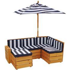 Amazon.com: KidKraft Sectional Outdoor Furniture: Toys & Games