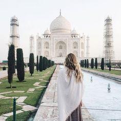 Taj Mahal is totally on my bucket list - is it on yours? www.journeysofc.com/travel