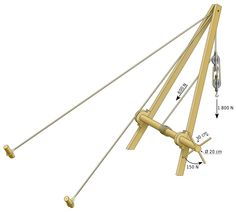 Trispastos scheme - Crane (machine) - Wikipedia, the free encyclopedia