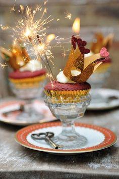Queen of Hearts Red Velvet cupcakes