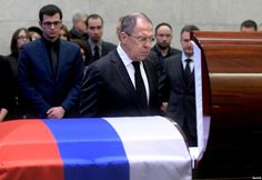 #world #news  Funeral Held For Russia's UN Envoy, Vitaly Churkin  #StopRussianAggression @realDonaldTrump @thebloggerspost