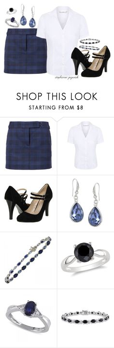 """""""Adria's Outfit for Ruth and Wendy's Surprise Birthday Party"""" by stephanie-jozwiak ❤ liked on Polyvore featuring TIBI, George, Gabriella Rocha, Carolee, Effy Jewelry, Ice, Allurez and Miadora"""