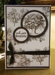 IC339~Heartfelt Sympathy by pinkberry - Cards and Paper Crafts at Splitcoaststampers. Lovely as a Tree