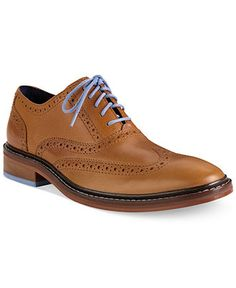 Cole Haan Men's Shoes, Colton Wing-Tip Oxfords - Lace-Ups & Oxfords - Men - Macy's