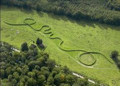 Eleven Minute Line by Maya Lin. 2004.