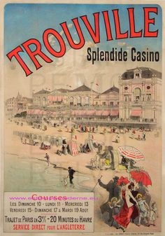 Trouville 85,5X122,5 Imp Chaix | Flickr - Photo Sharing!