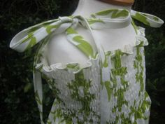 excellent shirring tutorial ... Kitschy Coo: Shirred sundress tutorial