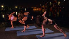 The #Revolved Triangle Sequence is great for fiery types who love a challenge! #Namaste Yoga