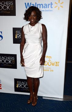 Viola Davis. CBS' Teacher's Rock Special Live Concert - Press Room