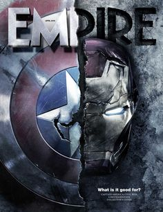 Empire 25.2.16 Subscribers' Cover  |  Captain America, Iron Man, Civil War