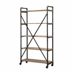Shelves GE Rustic Wood/MetShelf - $??.?? NZD - New Zealand ...