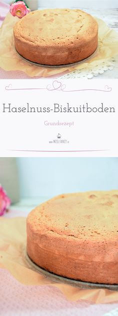 Free and fluffy hazelnut biscuits bottom – Backen – Keto Baby Food Recipes, Low Carb Recipes, Sweet Recipes, Cake Recipes, Dessert Recipes, Keto Postres, Torte Recipe, Brownies, Baking Basics