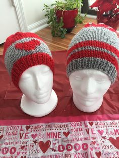 A personal favorite from my Etsy shop https://www.etsy.com/listing/265239244/valentines-day-hats-for-couples-handmade
