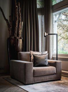 Nijboer - particuliere klant #huis #woonhuis #stoel #chair #gordijnen #interieur #design #inspiration