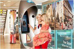 Free Skype calls at Tallinn, Estonia airport freebies