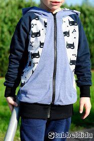 #sweatjackebenno nach dem Schnitt von #worawo genäht von #stubbeldidu #nähen #nähenfürkinderisttoll #nähenfürjungs #cool #boy #outfit #style #handmade