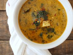 Sausage, Potato, and Kale Soup (Zuppa Toscana) | Paleo, gluten free, dairy free