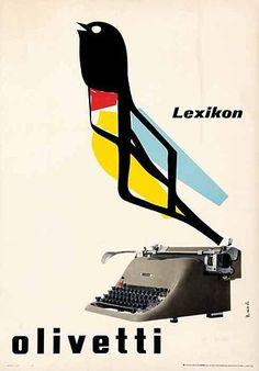 Olivetti Lexicon poster