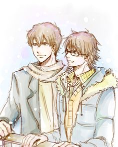 z-hard:  How about chrismiyu happy winter date for a change? . Then enter the jealous boyfriends   . . And then the plot twist     OMG.  I actually gasped out loud at the plot twist.  Poor Miyuki.  Poor, poor Miyuki.  There needs to be more Chris x miyuki stat to unbreak his (and my) heart.