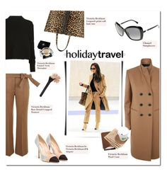 """""""Holiday Edition"""" by bombaysapphire ❤ liked on Polyvore featuring Victoria Beckham, Chanel and Mulberry"""