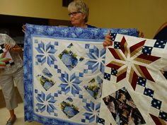 Eden quilt student sample from my workshop at the Hannibal PIecemakers quilt guild. Workshop, Student, Quilts, Blanket, Projects, Log Projects, Atelier, Blue Prints, Work Shop Garage