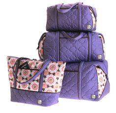 travel and sport bags in casablanca purple from cinda b