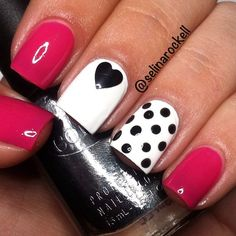 In search for some nail designs and ideas for the nails? Here is our list of 14 must-try coffin acrylic nails for fashionable women. Fabulous Nails, Gorgeous Nails, Pretty Nails, Get Nails, Fancy Nails, Pink Nails, Black Nails, Pink White Nails, Matte Nails