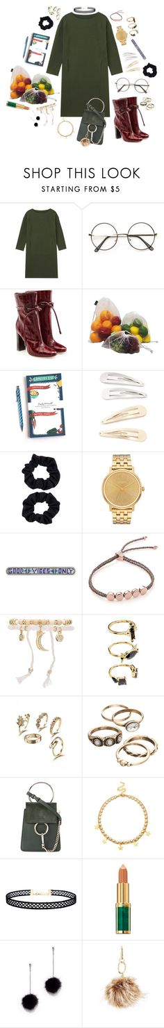 """Going Places, Doing Things"" by mcadamsa on Polyvore featuring Malone Souliers, Emily McDowell, Kitsch, Accessorize, Nixon, Rebecca Minkoff, Monica Vinader, Ettika, Noir Jewelry and Chloé"