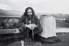 The actor Dennis Hopper at 34, photographed in Taos, N.M. Photo by Caterine Milinaire/Sygma/Corbis.