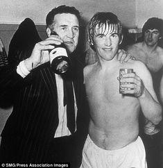 Jock Stein & Kenny Dalglish in 1977