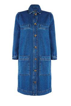 Denim Jacket Dress #WAREDENIM