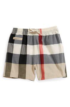 cc540c398c962 Burberry Check Print Swim Shorts (Baby Boys) Newborn Boy Clothes