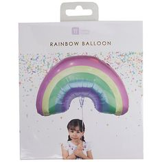 Buy Talking Tables Rainbow Foil Balloon Online at johnlewis.com