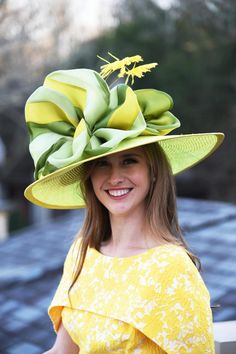 Check out some of her designs below for inspiration or view her full line at at camhats.com. Use promo code KYDERBYFEATURED147 for 15% off. Derby Party, Kentucky Derby Hats, May 1, Green, Inspiration, Check, Fashion, Biblical Inspiration, Moda