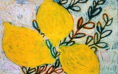 Gordon Hopkins  Lemons  oil on linen
