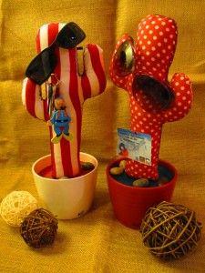 cactus de tela de kactus con k el original