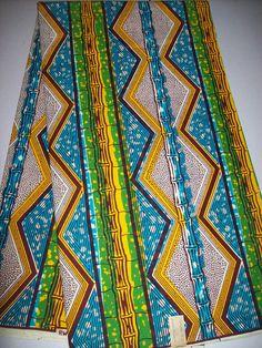 Julius Holland Wax print African fabric half by tambocollection