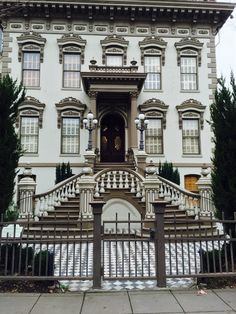 A Robber Baron's Mansion in Sacramento.  The Stanford Mansion is a must see in Sacramento, CA and the tour is FREE.
