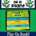 This flip up book makes a for a fun and unique way to learn about the parts of a plant. Each flap has a tab with a tracing and/or fill in the blan...