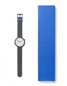 bulbul Facette 02 bei tiqtoq online bestellen ✓ Farben: Schwarz und Weiß ✓ Armband: Italienisches Leder in 18mm ✓ Schnelle & kostenlose Lieferung!