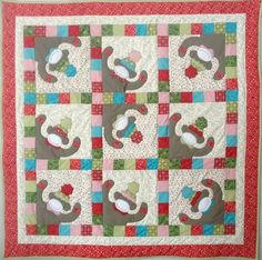PDFMonkeyshines Quilt Pattern from Quilt by quiltdoodledesigns