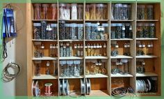 A complete overhaul and reorganization of how of store my jewelry-making supplies is in progress. Part 1: Findings.