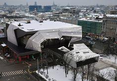 Реконструкция кинотеатра от Za Bor
