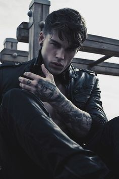 Jacket - Stephen James uffff tats and all! Soooo freaking hot!
