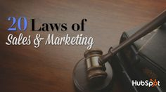 Experts Tell All: The 20 Laws of Sales & Marketing (via @hubspot)  //// Get inspired by these 20 quotes from sales and marketing experts. #Marketing #Sales #Quotes