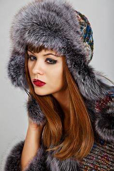 Шапка – ушанка арт. 997/1, 5000p. #wintercap #fur #winter